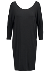 Mbym Lacy Jersey Dress Black