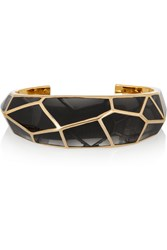 Isharya Louvre Gold Plated Resin Cuff
