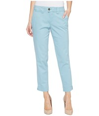 Jag Jeans Creston Ankle Crop In Bay Twill Nile Women's Casual Pants Blue