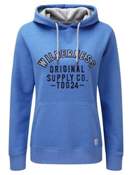 Tog 24 Amy Womens Deluxe Hoodie Wilderness Print Blue