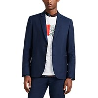 Paul Smith Wool Mohair Two Button Sportcoat Blue