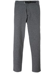 Edwin Straight Trousers Grey