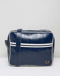 Fred Perry Classic Messenger Bag In Blue Blue