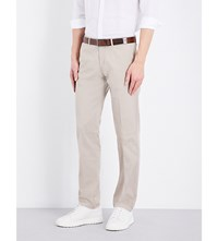 Hugo Boss Slim Fit Tapered Chinos Open Beige