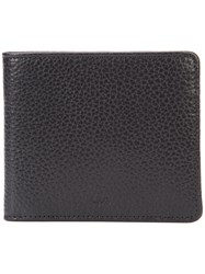 A.P.C. Bifold Wallet Men Leather One Size Black