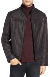 Michael Kors Men's Washed Leather Jacket