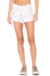 Wildfox Couture Sweethearts Cutie Shorts White