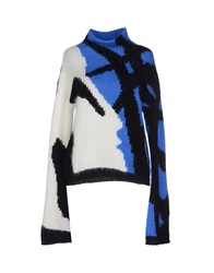 Just Cavalli Turtlenecks Blue