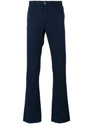 Brioni Tapered Trousers Blue