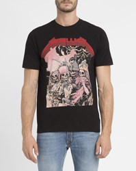 Eleven Paris Black Metallica Heads T Shirt