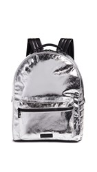 Kendall Kylie Stevie Large Backpack Silver