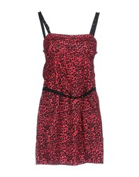 Killah Short Dresses Fuchsia