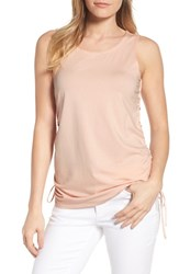 Kenneth Cole New York Cinched Drawstring Tank Peachy Keen