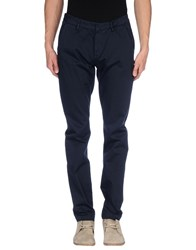 Truenyc. Trousers Casual Trousers Men Dark Blue