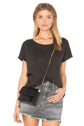 Velvet By Graham And Spencer Alice Pocket Tee Charcoal