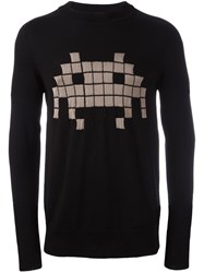 Tom Rebl 'Arcade' Jumper Black