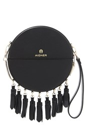 Aigner Tonda Across Body Bag Black