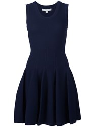 Jonathan Simkhai Sleeveless Mini Dress Blue