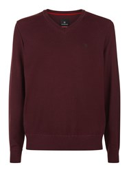 Victorinox Knifesmith V Neck Sweater Purple