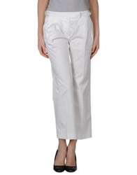 Alberto Biani Casual Pants White