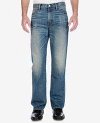 Lucky Brand Men's 181 Straight Relaxed Fit Jeans Bluff Lake