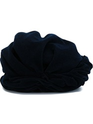 Forte Forte Turban Hat Blue
