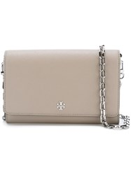 Tory Burch 'Robinson' Chain Crossbody Bag Nude And Neutrals