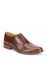 Cole Haan Madison Leather Oxfords Dark Brown
