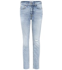 Grlfrnd Karolina High Waisted Jeans Blue