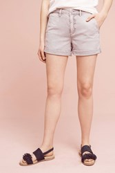 Anthropologie Relaxed Chino Shorts Dark Grey