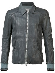 Guidi Aviator Jacket Men Horse Leather 48 Grey