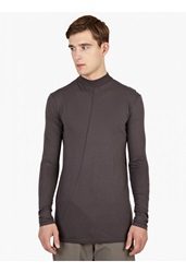Damir Doma Silent Grey Turtle Neck T Shirt