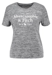 Abercrombie And Fitch Little Boy Print Tshirt Charcoal Dark Grey