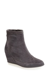 Adam Tucker By Me Too Adam Tucker 'Bree' Hidden Wedge Bootie Women Steel Grey Suede