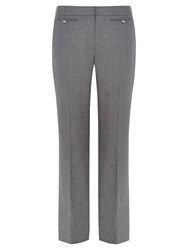 Viyella Flannel Long Trousers Grey