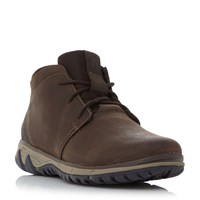 Merrell All Out Waxy Lea Chukka Boots Brown