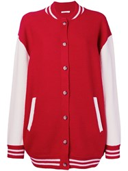 Mes Demoiselles Slater Buttoned Cardigan Red