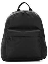 Diesel Monochrome Logo Backpack Black