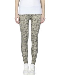 Just Cavalli Trousers Leggings Women Beige