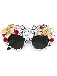 Dolce And Gabbana 'Mama's Brocade' Limited Edition Sunglasses Black