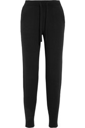 Allude Cashmere Track Pants Black