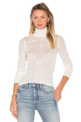Deby Debo Lana Turtleneck Sweater Ivory