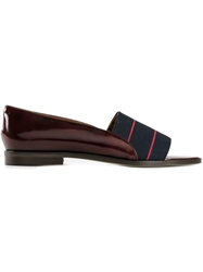 Band Of Outsiders Loafer Style Sandals Pink And Purple