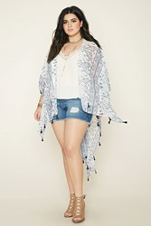 Forever 21 Plus Size Paisley Print Shawl