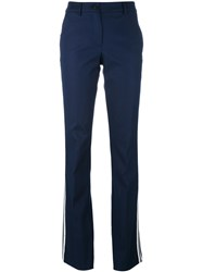 P.A.R.O.S.H. Candela Flared Trousers Blue