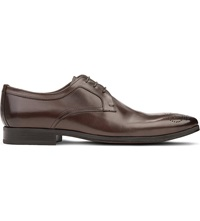 Kurt Geiger Fabio Leather Derby Shoes Grey