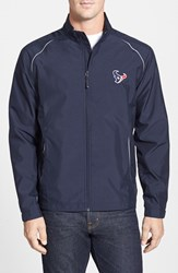 Men's Big And Tall Cutter And Buck 'Houston Texans Beacon' Weathertec Wind And Water Resistant Jacket