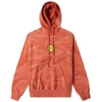 Liam Hodges Badge Hoody Red
