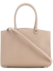 Rochas Mini Wide Tote Bag Women Calf Leather One Size Nude Neutrals