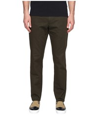 Todd Snyder Hudson Tab Front Chino Olive